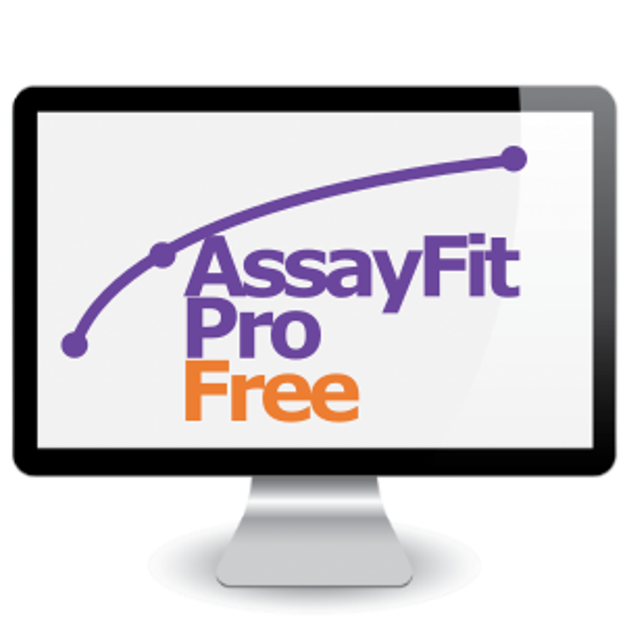 Picture of Assayfit Pro Curve Fitting Free Key