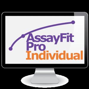 Picture of Six Months Assayfit Pro Curve Fitting Individual Key