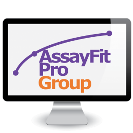 Picture of Assayfit Pro Curve Fitting Group Key