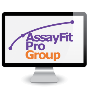 Picture of One Year Assayfit Pro Curve Fitting Group Key